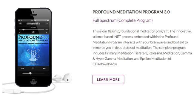 iawake profound meditation